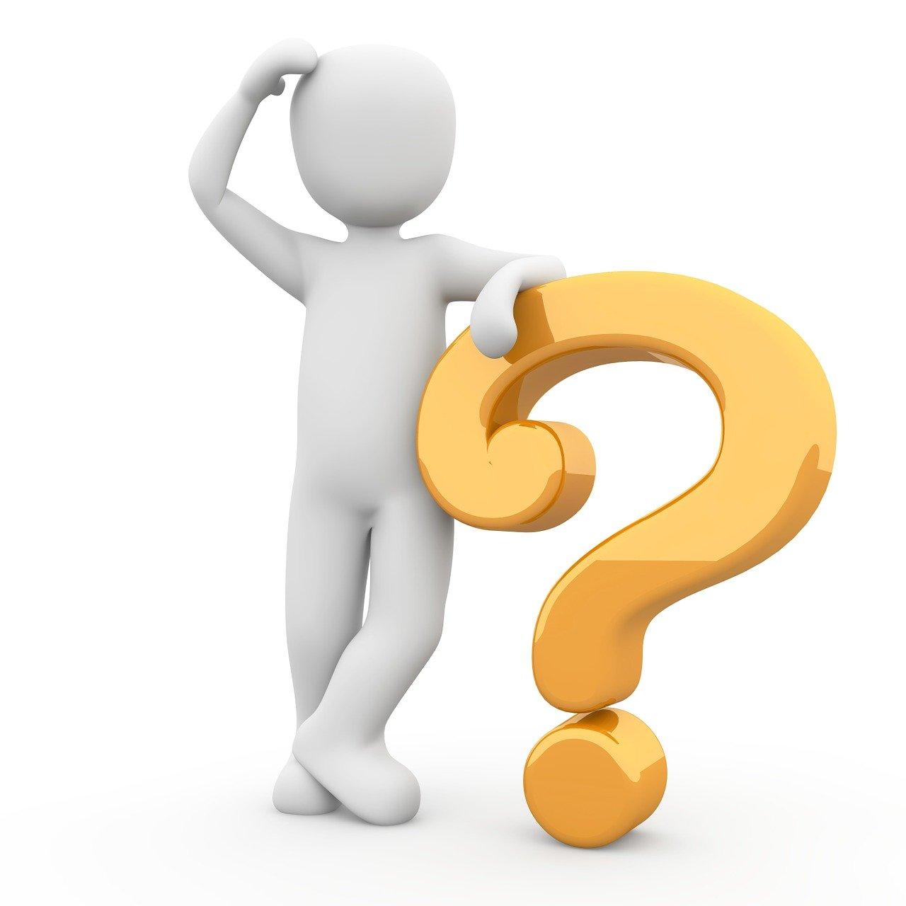 question mark, question, response
