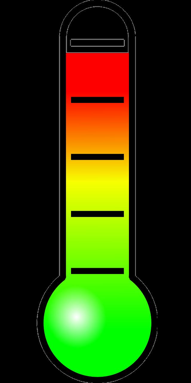 thermometer, temperature, hot