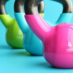 kettlebells, gym, exercise